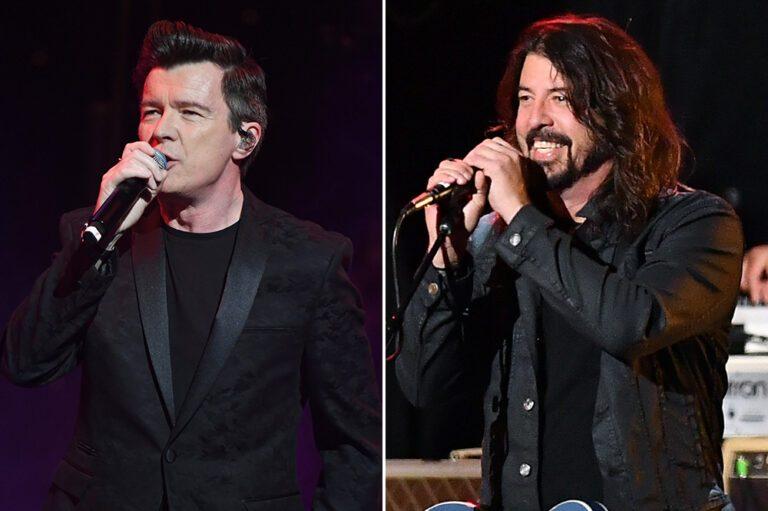 Rick Astley Foo Fighters