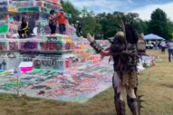 GWAR's JiZMak Da Gusha Praises Graffiti on Robert E Lee Statue: 'This Is Great'