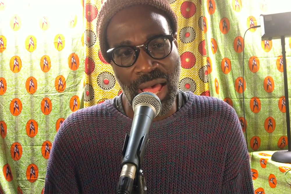 TV on the Radio Tunde Adebimpe