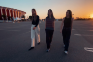 Haim Chase Each Other Around the Forum Parking Lot in 'Don't Wanna' Video
