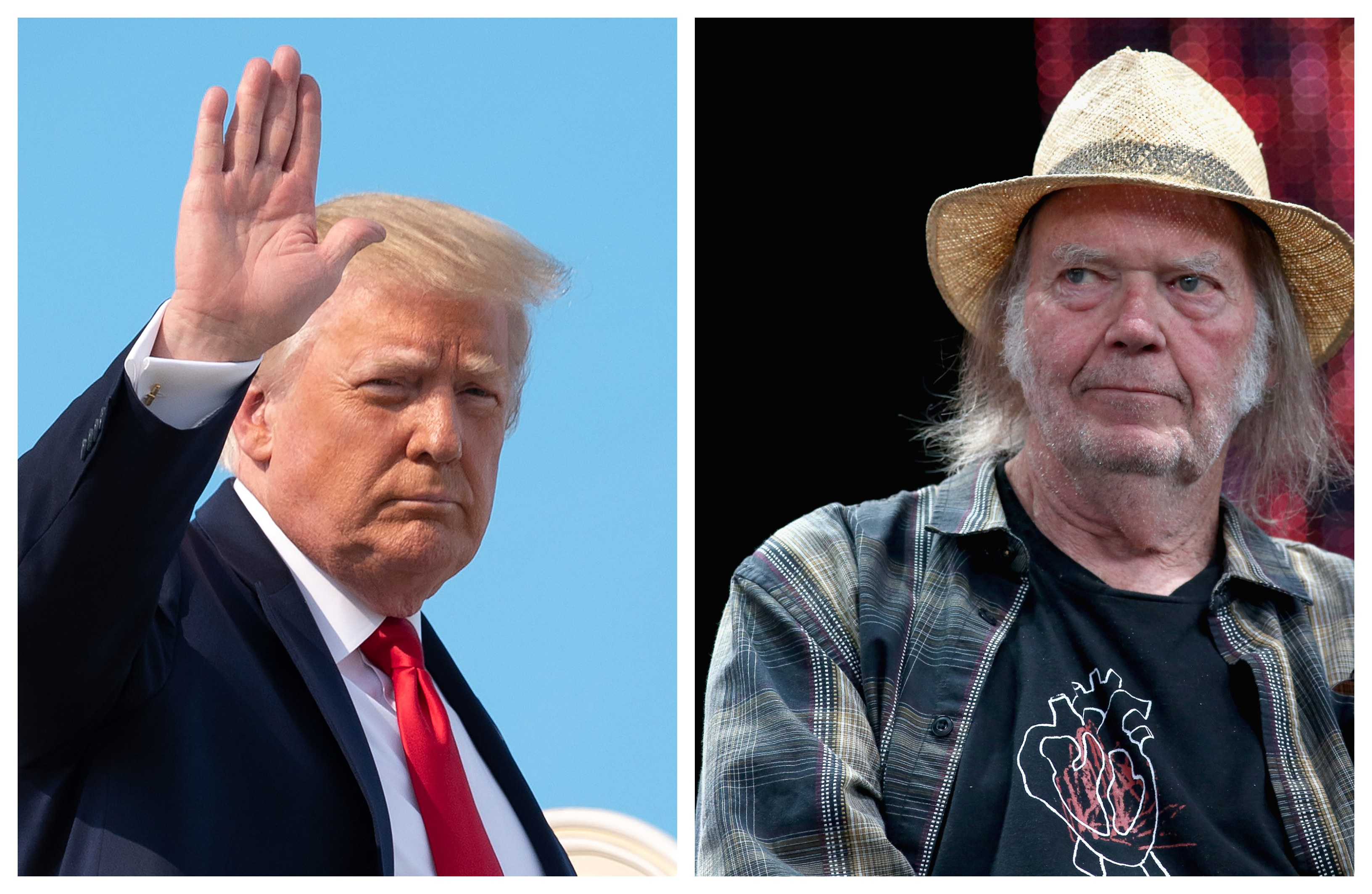 Neil Young Donald Trump
