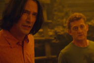 <i>Bill & Ted Face the Music</i>: Keanu Reeves and Alex Winter on Their Bond in New Clip