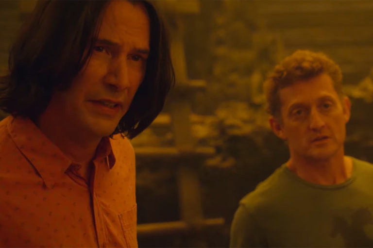 Keanu Reeves and Alex Winter in Bill and Ted Face the Music Trailer