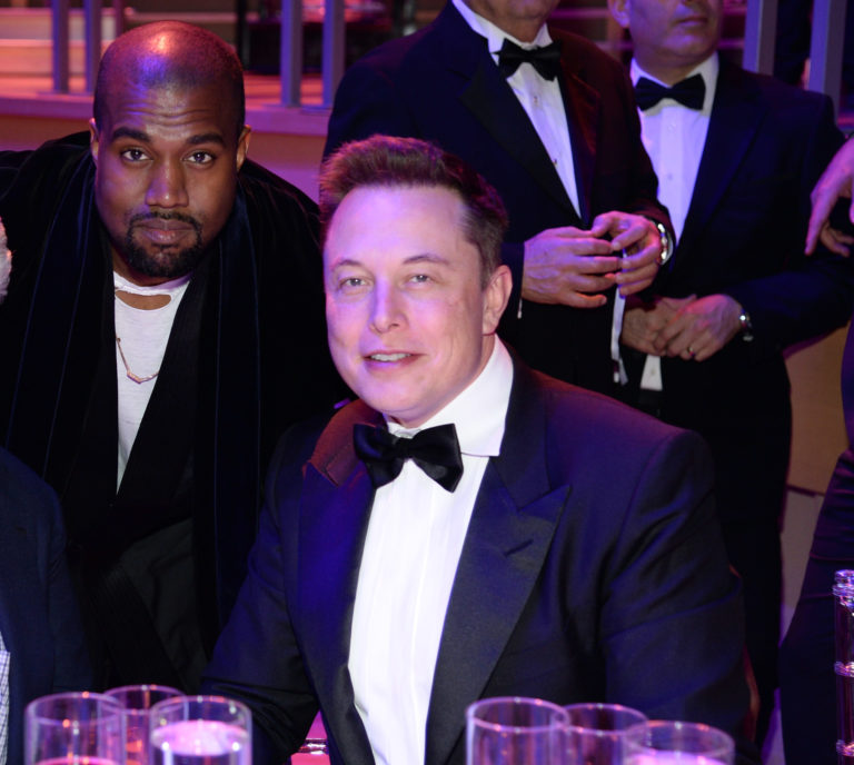 Elon Musk Kanye West