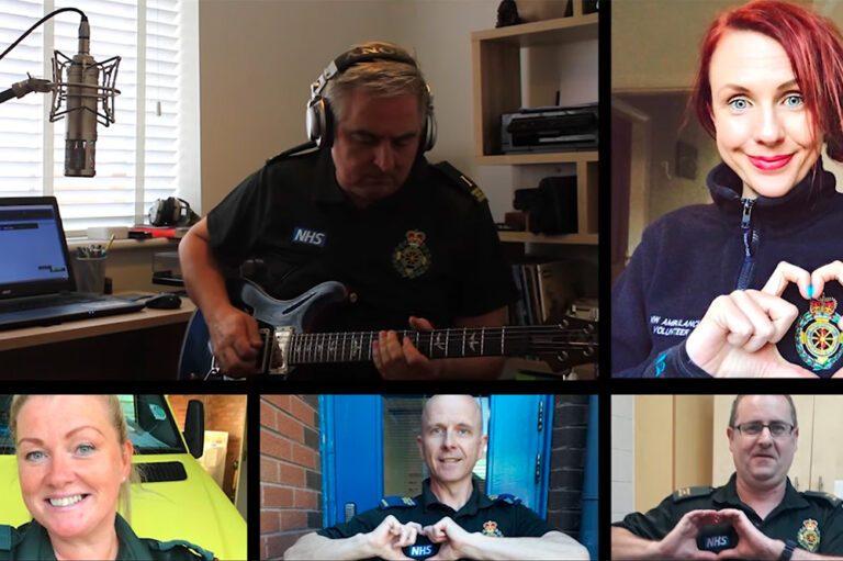 Paramedics Foo Fighters YouTube