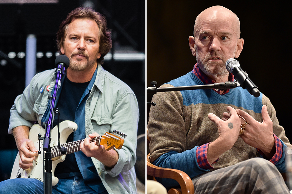 Eddie Vedder Michael Stipe