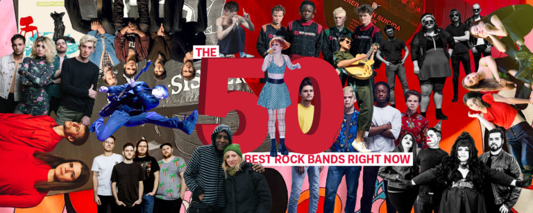 The 50 Best Rock Bands Right Now