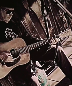 Neil Young Performs Protest Songs on His Front Porch
