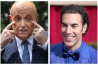 Rudy Giuliani Called the Cops on Sacha Baron Cohen After Being Pranked