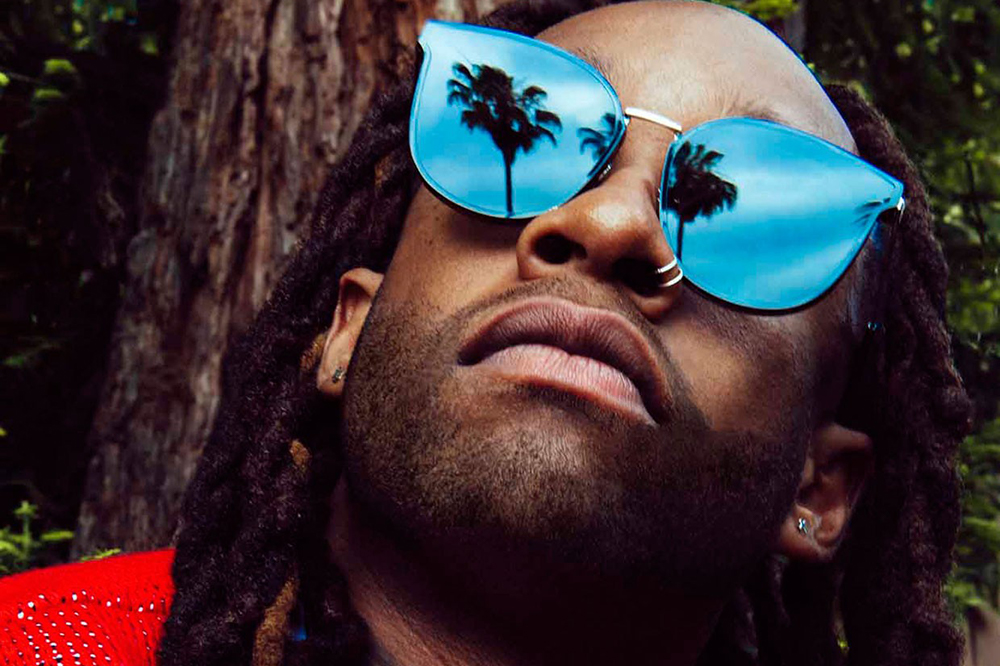 Ty Dolla Sign Portrait for SPIN by Austin Hargrave