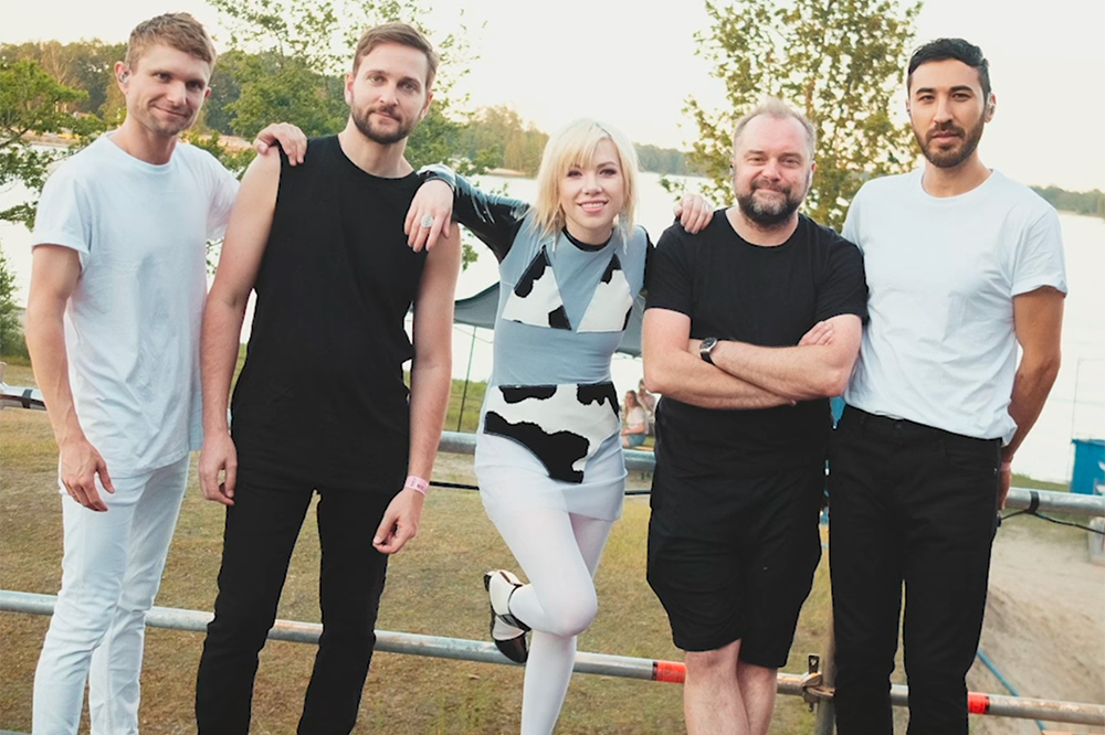 Carly Rae Jepsen with Her Band