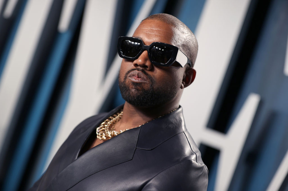 Kanye West in shades