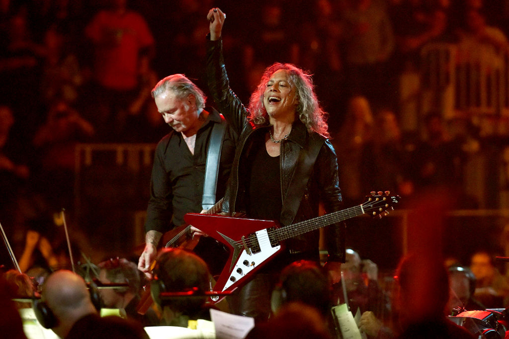 Metallica and San Francisco Symphony at 'S&M2'