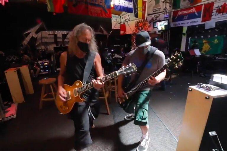 Metallica announcement for Encore Drive-In