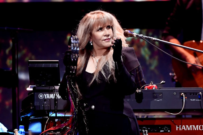 Stevie Nicks at the 2018 iHeartRadio Music Festival