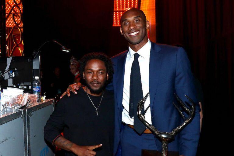 Kendrick Lamar and Kobe Bryant