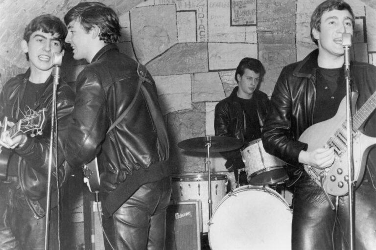 Beatles Performing At The Cavern Club