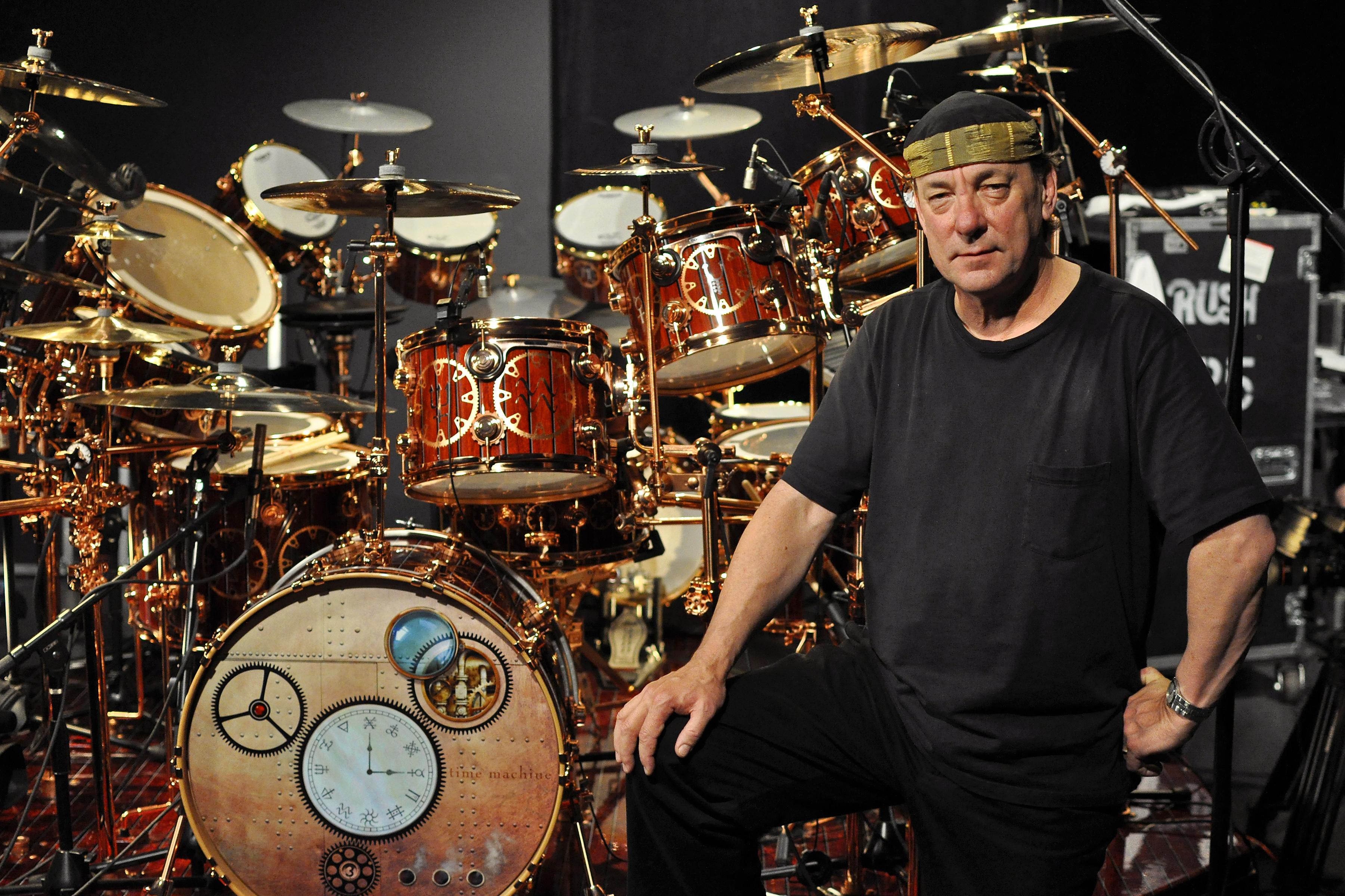 Neil Peart Drum Portraits