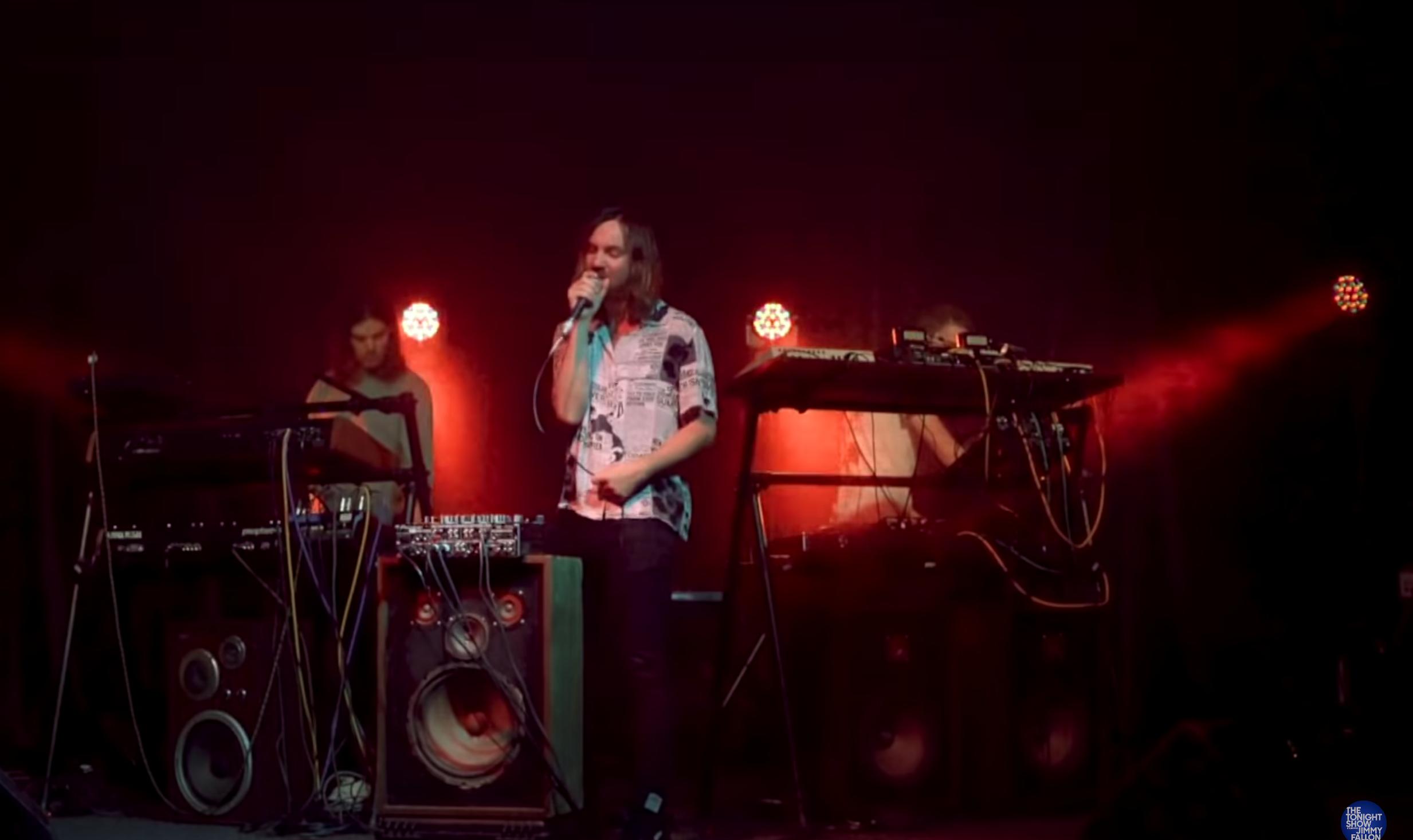 Tame Impala tonight show