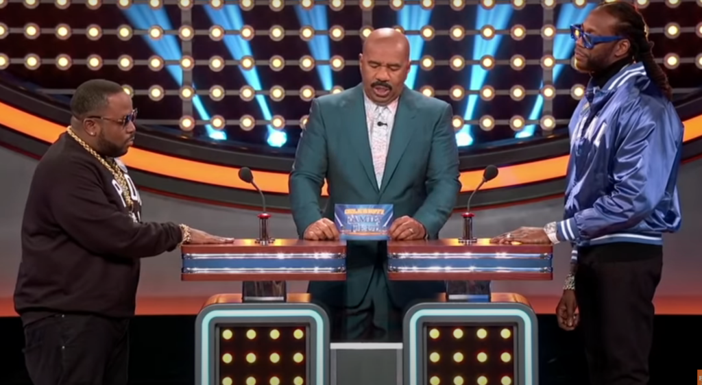 Big Boi and 2 Chainz Battle on 'Celebrity Family Feud'
