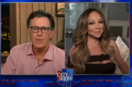 Mariah Carey Reveals More About Her 1995 Alt-Rock Album to Stephen Colbert