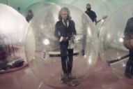 The Flaming Lips Perform 'God and the Policeman' From Their Trademark Space Bubbles For <i>Fallon</i>