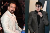 Nicolas Cage Told Marilyn Manson That He Turned $200 Into $20,000 Gambling and Gave It to Charity