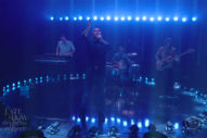 Future Islands Bring 'For Sure' to <em>Colbert</em>