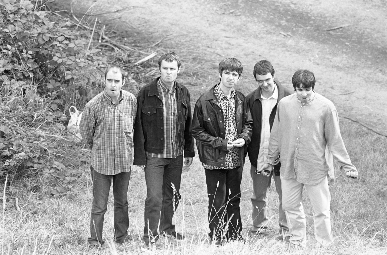 Oasis at Slane Castle in 1995
