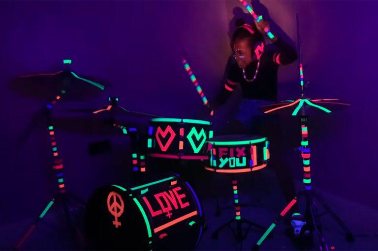 "Nandi Bushell Playing on Coldplay's ""Fix You"""