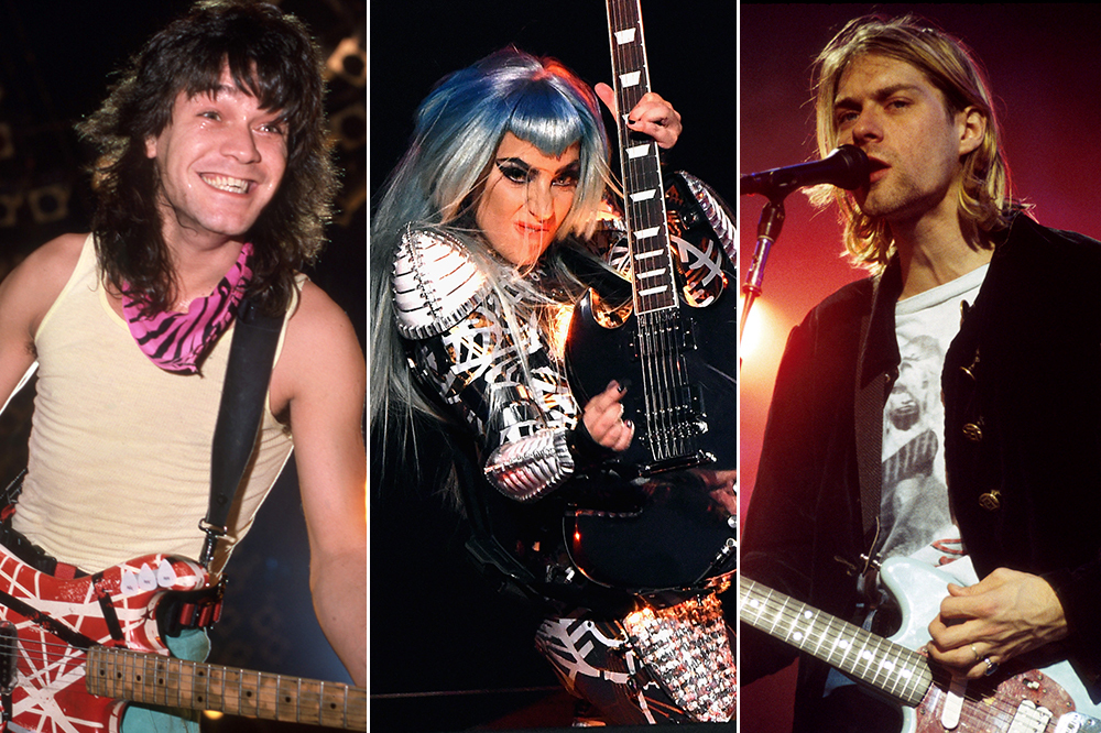 Eddie Van Halen Guitars, Smashed Kurt Cobain Guitar to Be Auctioned