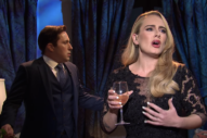 Adele Sings Her Hits, Has Zero Chill in <i>The Bachelor</i> Sketch on <i>SNL</i>