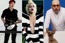 Vampire Weekend's Ezra Koenig / Lady Gaga / OK Go's Tim Nordwind