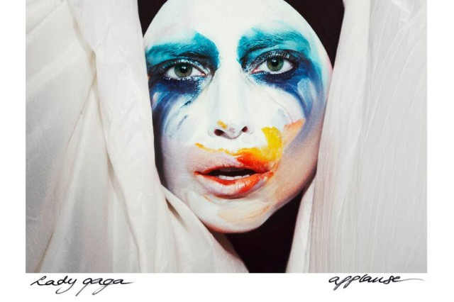 Lady Gaga applause single stream leak cover