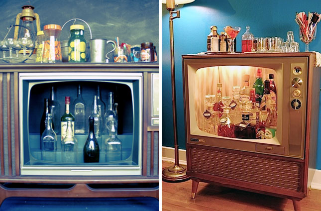 12 Ways To Create A Beautiful Bar At Home Brit Co