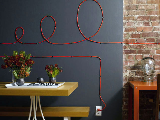 11 Clever Ways To Cover Your Cords Brit Co