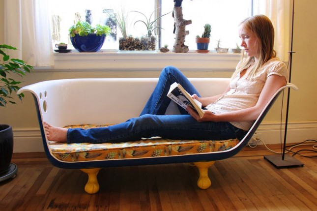 17 Quirky Couches Made From Repurposed Materials Brit Co