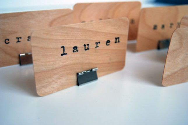 30 Quick and Easy DIY Place Cards for Your Thanksgiving ...