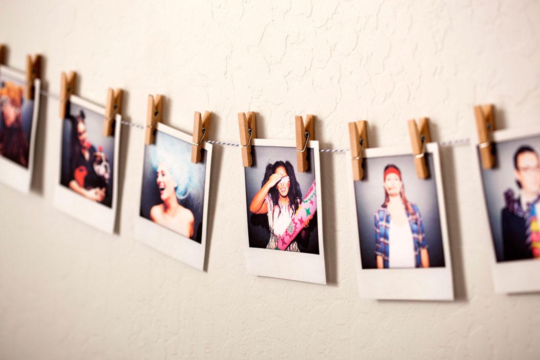 3 Ways To Turn Photos Into Custom Garlands Brit Co