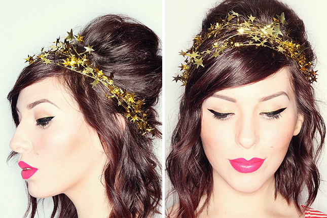 15 DIY Headbands and Hairpins to Make for NYE | Brit + Co