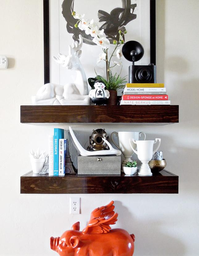 A Dozen Creative Ways To Make Your Own Shelves Brit Co
