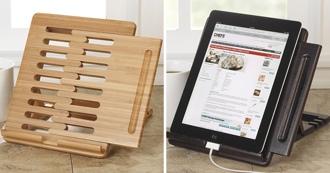 19 Ways To Keep Your Tablet Food Free In The Kitchen