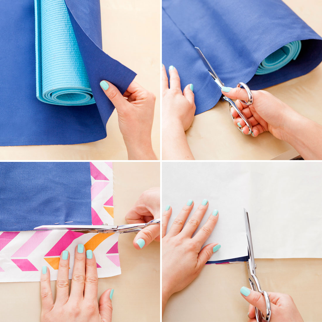 How To Make Your Own Colorful Custom Yoga Bag Brit Co