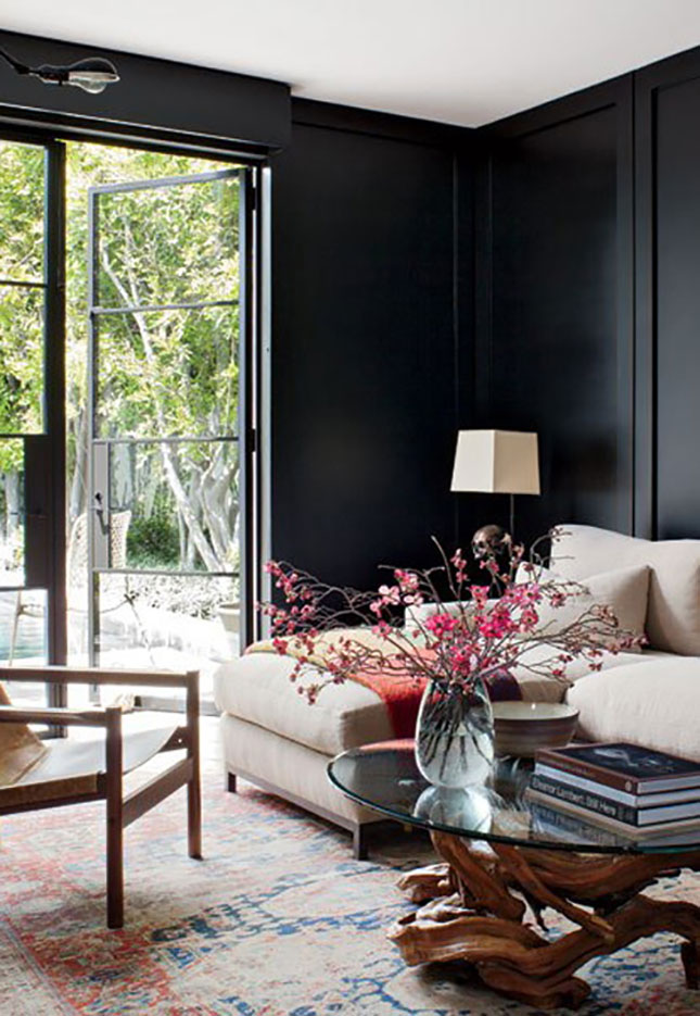 Don T Be Afraid Of The Dark 12 Black Walls Done Right