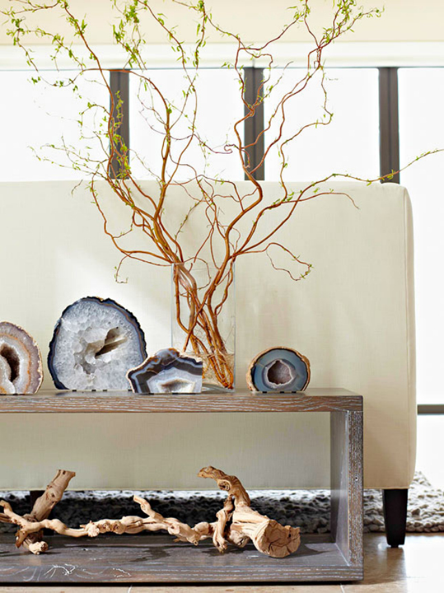 24 Creative Ways To Decorate With Branches Brit Co