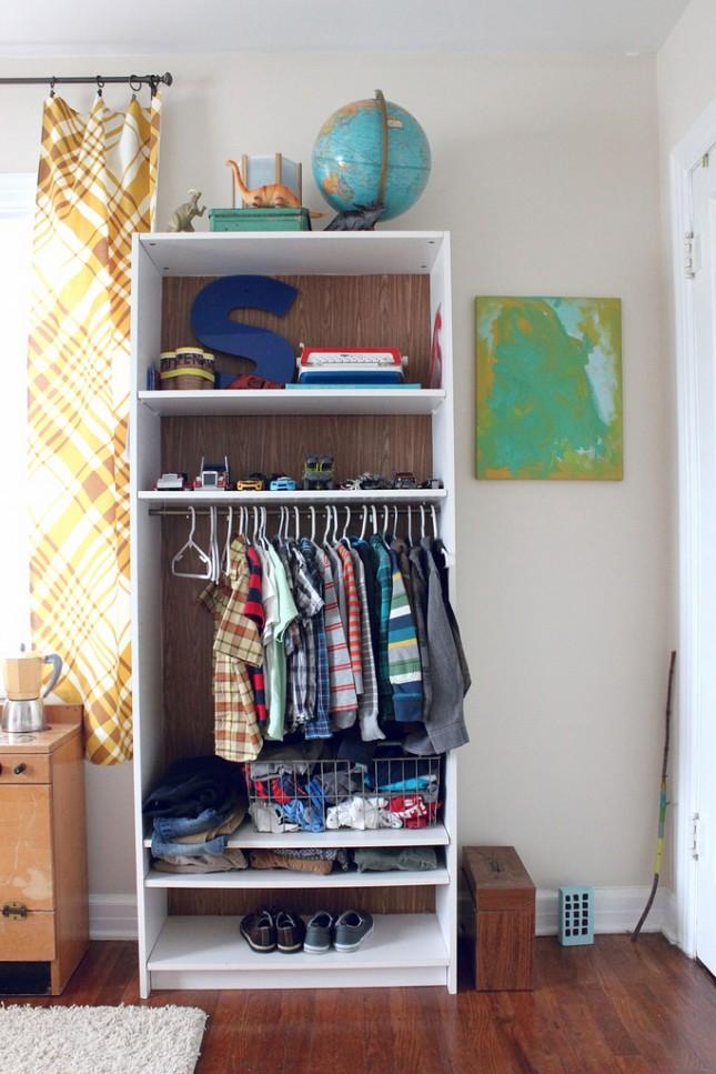 Small Space Solution 15 Diy Garment Racks Brit Co