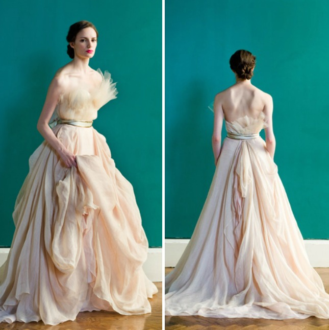 16 Non Traditional Wedding Dresses For The Modern Bride: 18 Colorful Wedding Dresses For The Non-Traditional Bride