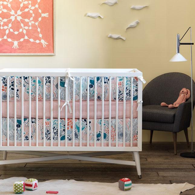 Dwellstudio Mid Century Crib In Espresso At Modern Baby Crib Dwell