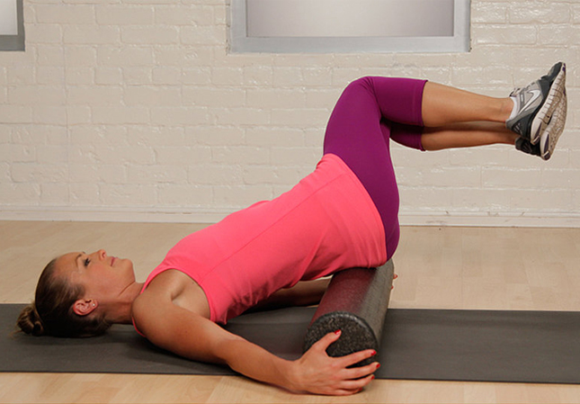 10 Foam Roller Stretches To Give Your Bod Some Tlc Brit Co