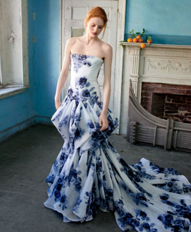 Craziest Wedding Dresses: 14 Floral Wedding Dresses That Are Crazy Pretty